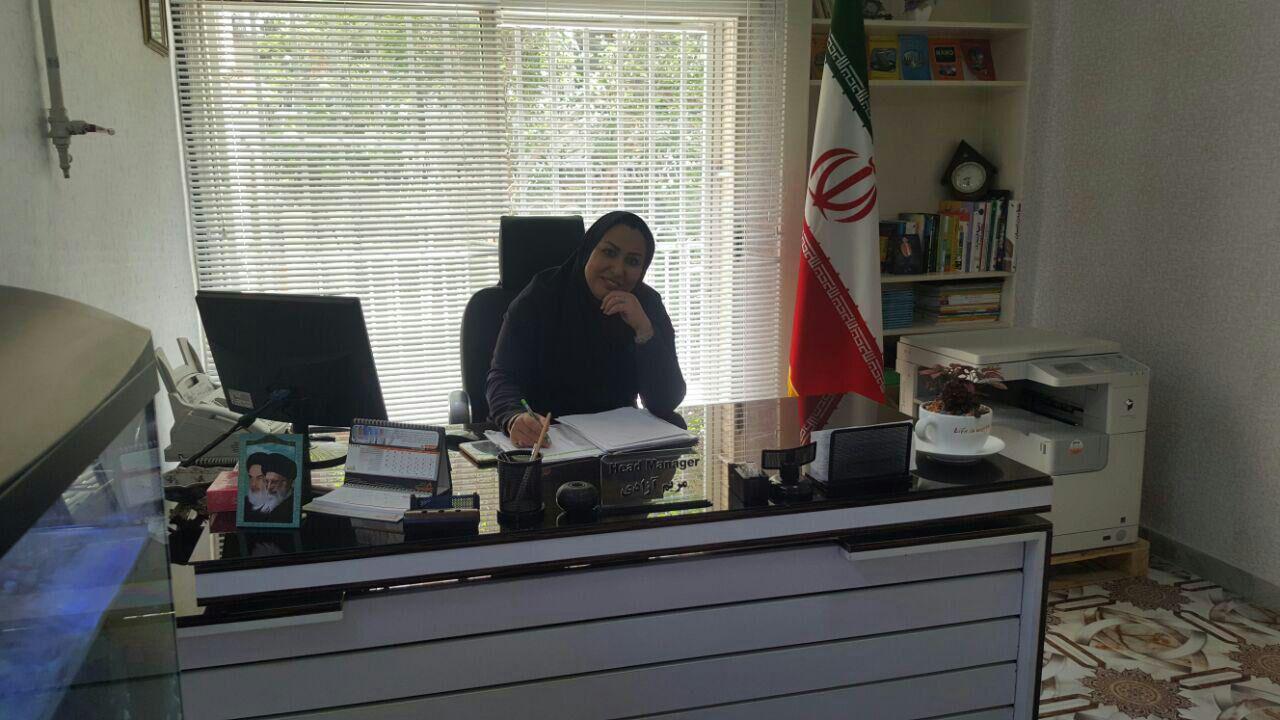 maryam azadi - درباره موسس مدرسه - دکتر مریم آزادی