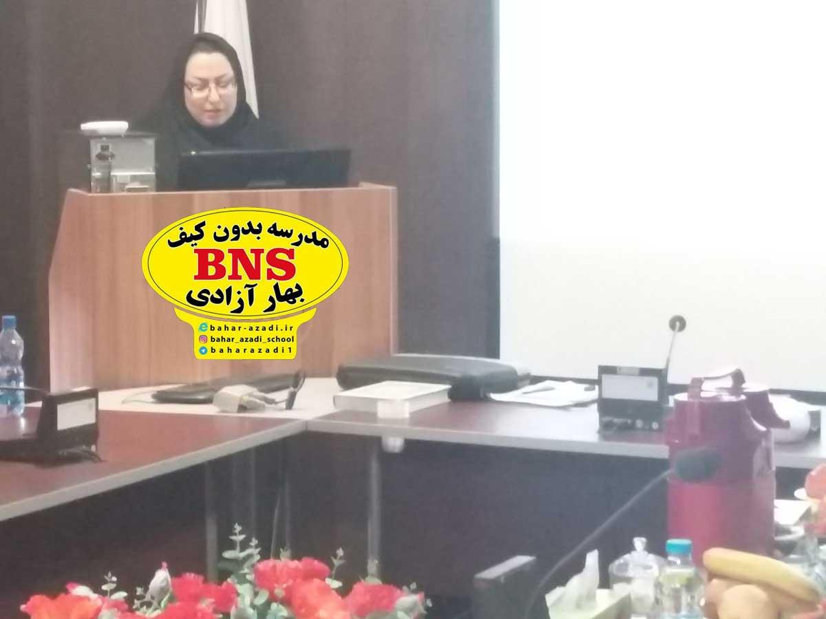 azadi 2 - تصاویری از مدیریت مدرسه بدون کیف مریم آزادی اصفهان و مهندس پژمان ایراندوست