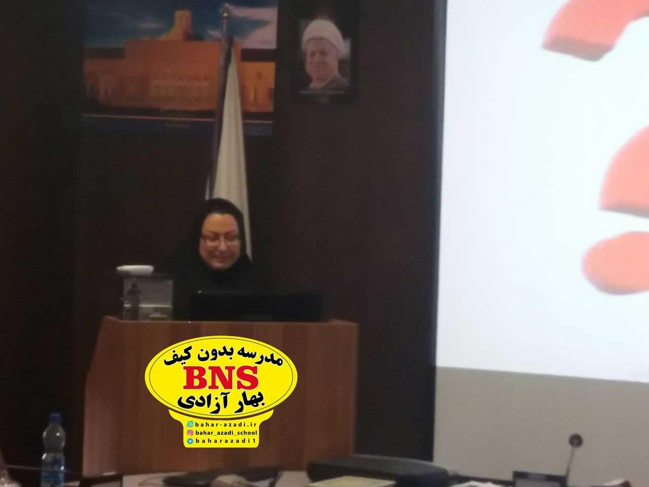 azadi 3 - تصاویری از مدیریت مدرسه بدون کیف مریم آزادی اصفهان و مهندس پژمان ایراندوست