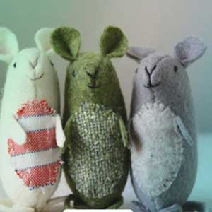 moosh - آموزش ساخت موش نمدی